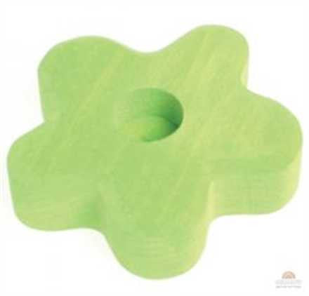 Grimm's Light Green 1 Hole Flower Lifelights Decoration