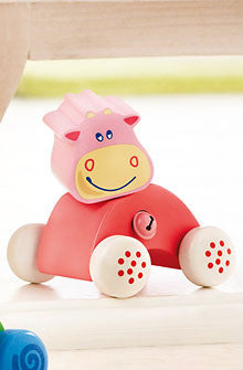 Haba Cow Cara Baby Toy