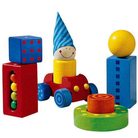 HABA First Blocks (Erste Steine) - wooden baby blocks