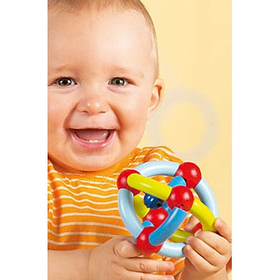 Haba Viva Baby Rattle, Clutching Toy