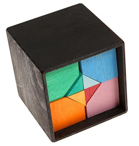Grimm's Hexahedron Wooden Puzzle