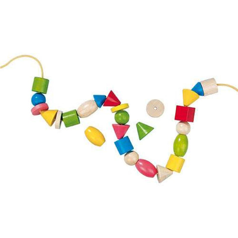 Haba Threading Beads - Worm Lacing Toy