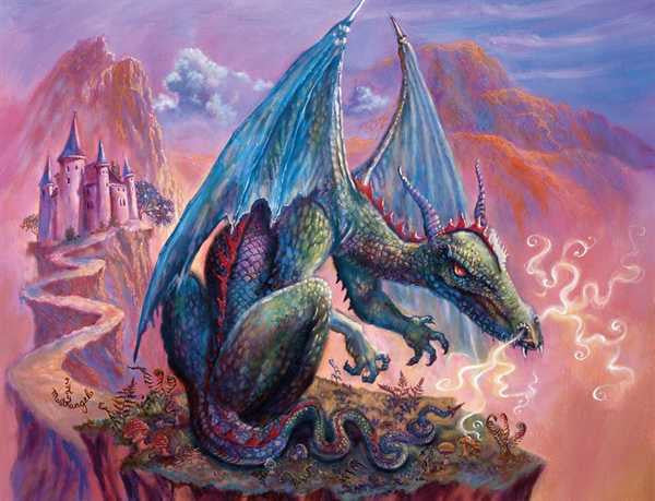 Lone Dragon - 300 piece jigsaw puzzle