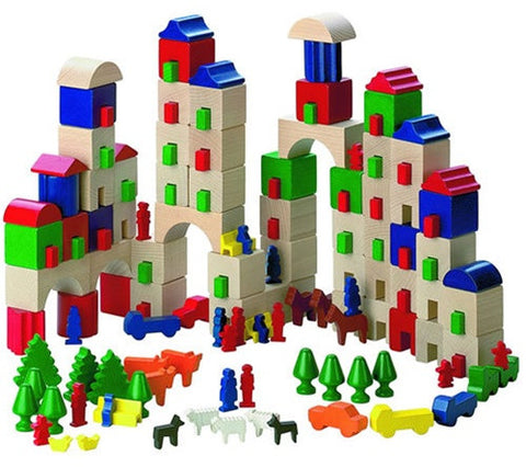 Haba Little Amsterdam Wooden Building Blocks
