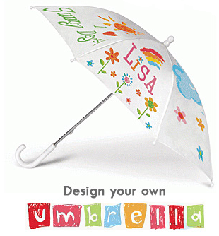 Paint & Design Your Own Umbrella Kit