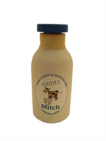Wooden Milk Bottle