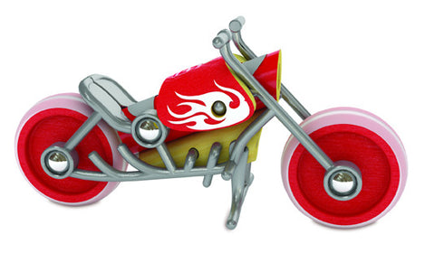 Hape e-chopper Bamboo Toy Motorcycle