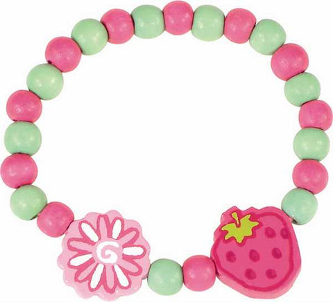 Vilac Strawberry Bracelet and Necklace Set