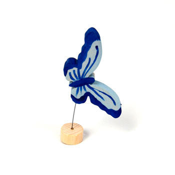 Grimm's Blue Butterfly Celebration Ring Decal