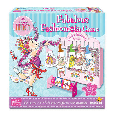 Fabulous Fashionista Game Fancy Nancy