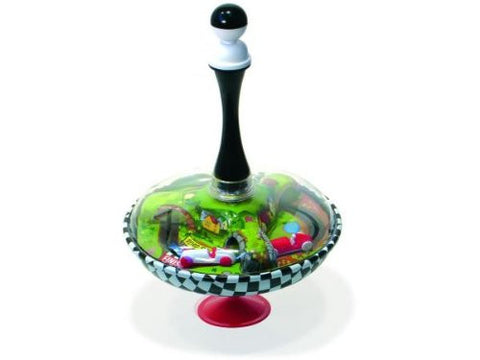 Vilac Metal Spinning Top with Racing Cars