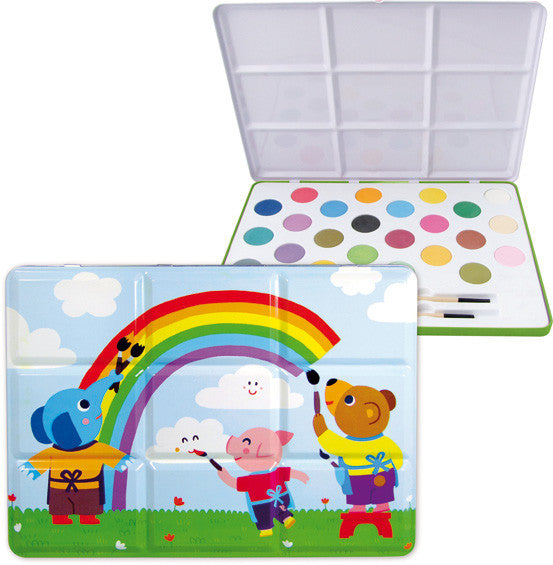Vilac Large Tin Painting Set - 24 colours