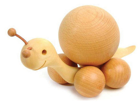 Large Snail with Beech Ball (2.4 inch diameter)