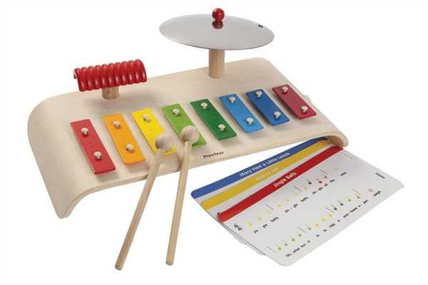Plan Toys 3 in 1 Musical Instrument Set