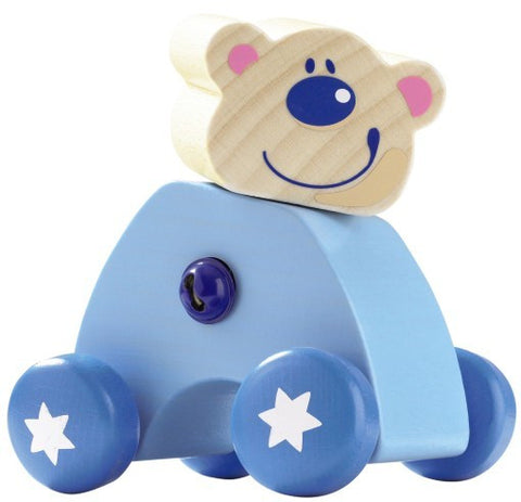 Haba Bear Ben Animal Scooter Baby Toy
