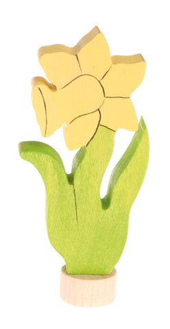 Grimm's Daffodil Yellow Flower Celebration Ring Decal