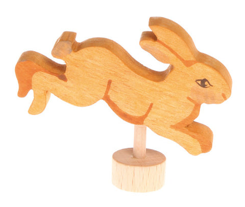 Grimm's Jumping Rabbit Celebration Ring Decoration