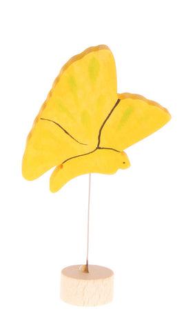 Grimm's Yellow Butterfly Celebration Ring Decoration