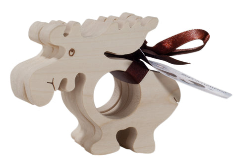 Canada Moose Napkin Ring Set of 4