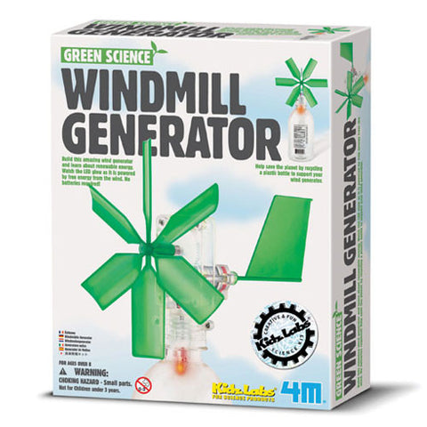 4M Windmill Generator - Green Science, Green Energy