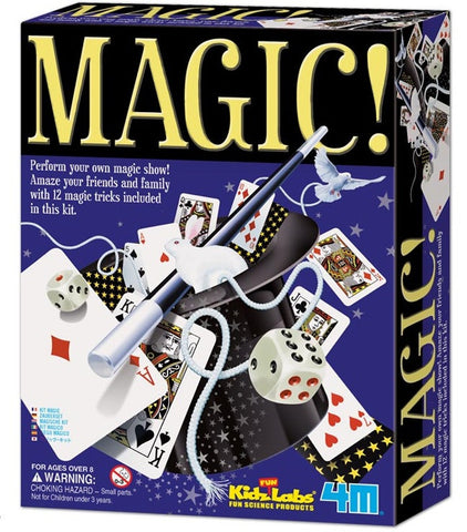 4M Magic Tricks in a Box - Magic Kit