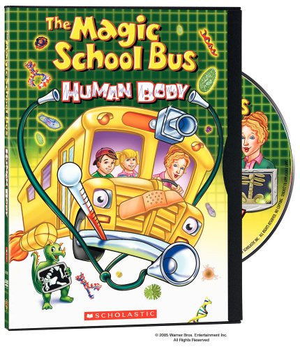 Magic School Bus: Human Body. Educational DVD
