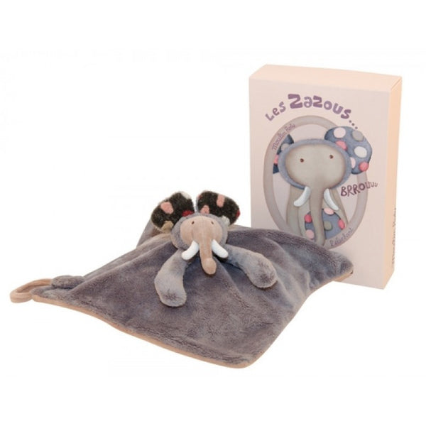 Moulin Roty Les Zazous Elephant Comforter