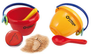 Safe Baby Beach pails made in Germany