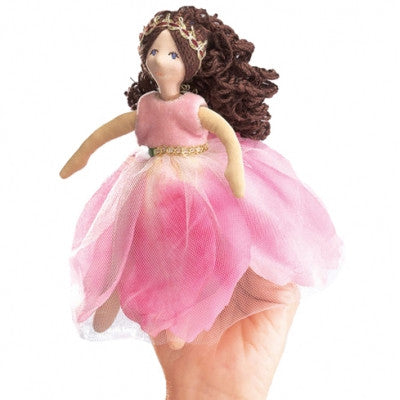 Folkmanis Flower Princess Finger Puppet