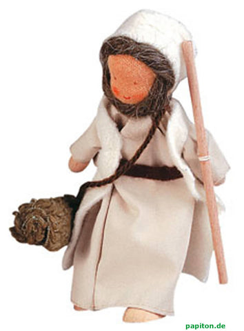 Kathe Kruse Old Shepherd Flexible Doll