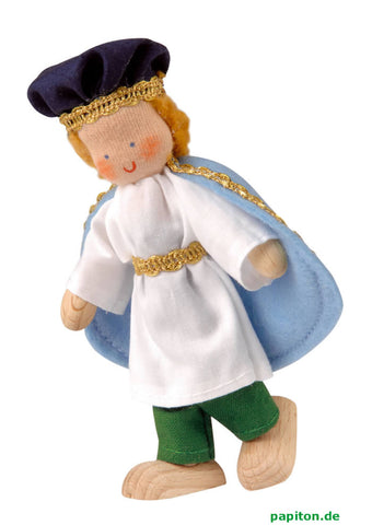 Kathe Kruse Prince Flexible Doll