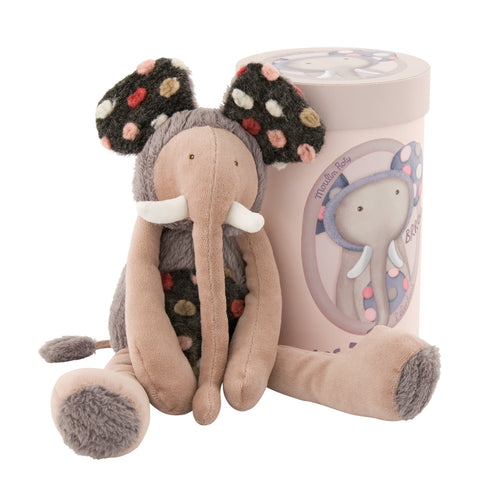 Moulin Roty Plush Elephant Doll, Les Zazou