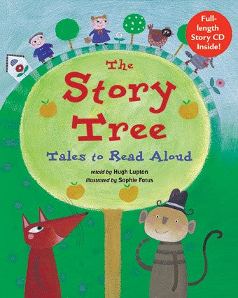 Story Tree - Paperback Kids Book with Story CD Tales to Read Aloud