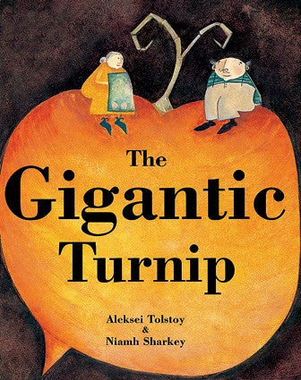 Gigantic Turnip - Paperback Kids book with Story CD
