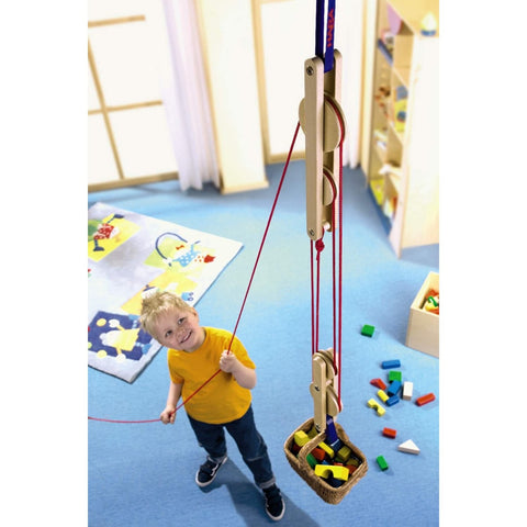 Haba Block and Tackle for kids