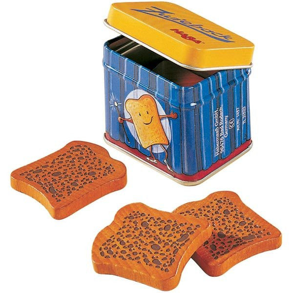 Haba Rusks - Wooden Pretend Play Food Toast