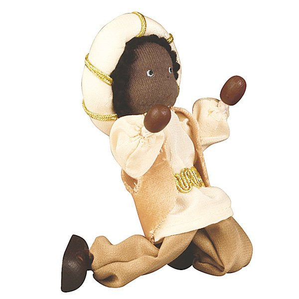 Kathe Kruse King Balthasar Flexible Doll for Nativity Set