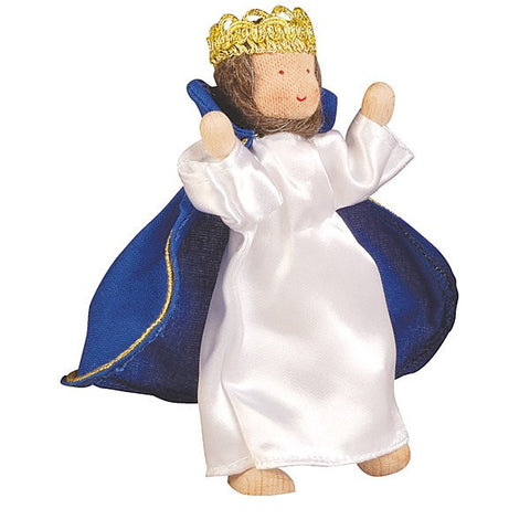 Kathe Kruse King Melchior Flexible Doll for Nativity Set