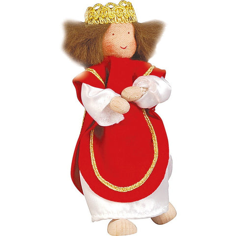 Kathe Kruse King Kaspar Flexible Doll for Nativity Set