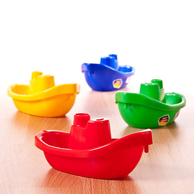 Set of 4 Joining Boats by Spielstabil