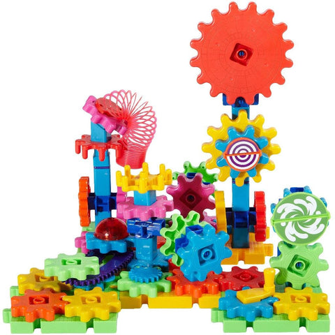 Gears! Gears! Gears! Lights & Action Building Set