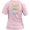 "Pink ""Be You"" Inspirational T-Shirts and Tank Tops"