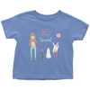 """Eat, Sleep, travel"" Toddler T-Shirt"