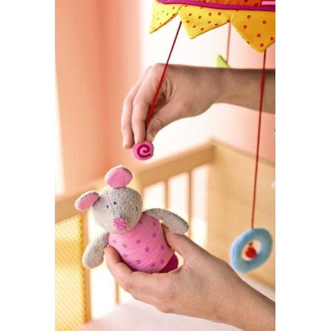 "Haba ""Curtains Rise!"" European Baby Mobile"