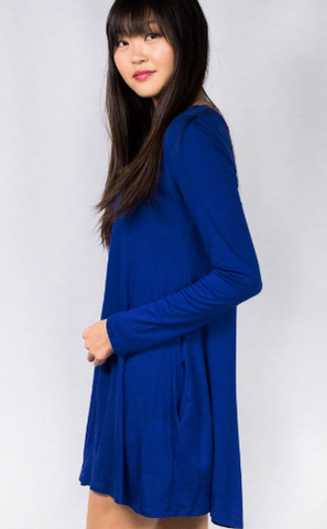 Bamboo Long Sleeve Dress