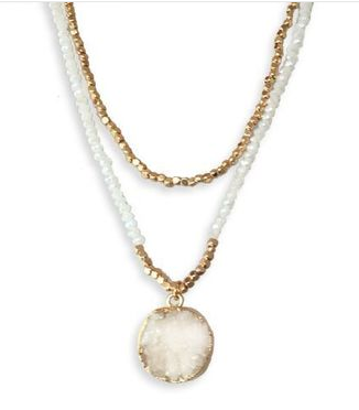 BAXLEY-WHITE OPAL Necklace