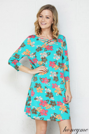 Aiden Regular and Plus Tunic Dress