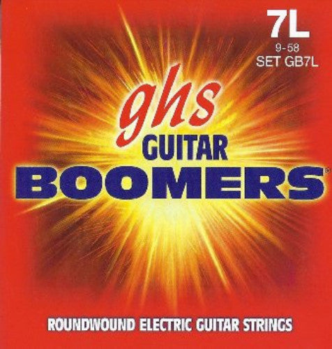Electric Boomers 7-String Extra Light 9-58 Set GB7L