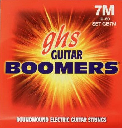 Electric Boomers 7-String Medium 10-60 Set GB7M