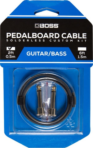 2 Foot Solderless Pedalboard Cable Kit BCK-2